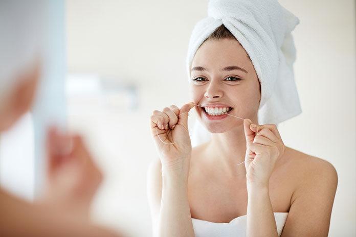 Jak używać nici dentystycznej