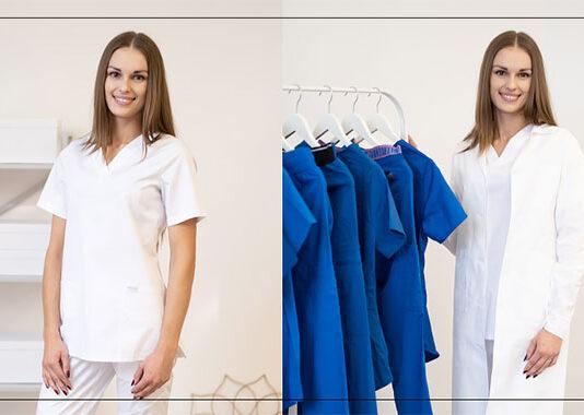 Fartuchy i sukienki medyczne